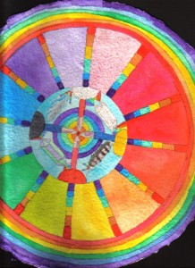 Crystal Medicine Wheel