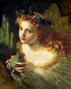 Sophie Anderson Take The Fair Face Of Woman