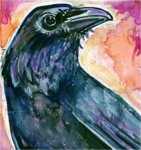 watercolorcrow